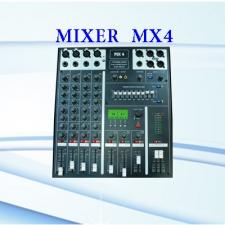 میکسر حرفه ای رومیزی MX4 ، محصولی جدید از شرکت پیشگامان طراحی صوت